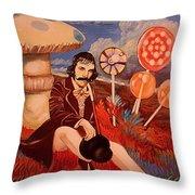 Billy Wonka 2  Throw Pillow