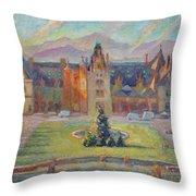 Biltmore Christmas Morning Throw Pillow