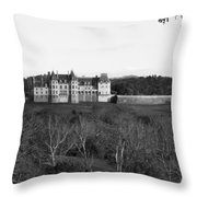 Biltmore Mansion Throw Pillow by Michael Tesar