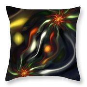 Binary Attractors Throw Pillow
