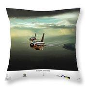 Binbrook Lightnings V2 Throw Pillow