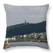 Bingen Germany Throw Pillow