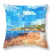 Binigaus Throw Pillow