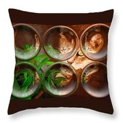 Bink Bubbles Throw Pillow