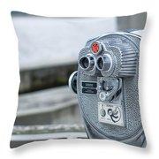 Binoculars  Throw Pillow