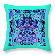 Biomorphic #1 Throw Pillow