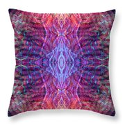 Biomorphic Syntax  Throw Pillow