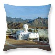 Biosphere 2, Arizona Throw Pillow