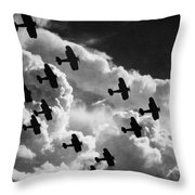 Biplanes, C1917 Throw Pillow