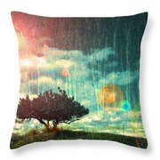 Birch Dreams Throw Pillow