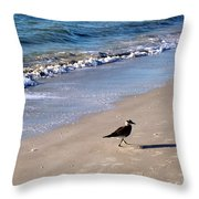 Bird 2009 Throw Pillow