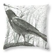 Bird, 2011 Throw Pillow