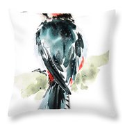 Bird Art Throw Pillow