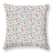 Bird Example Throw Pillow