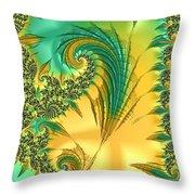 Bird Exotica Throw Pillow