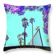 Bird In Paradise Throw Pillow