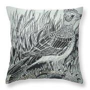 Skyirk Bird Throw Pillow