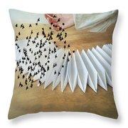 Bird Migration 2 Throw Pillow