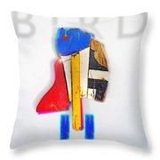 Bird Moderne Throw Pillow