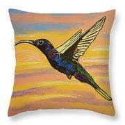 Bird Of Beauty, Superwoman Throw Pillow