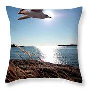Bird Of Life Throw Pillow