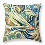 Bird Of Paradise 5 Throw Pillow