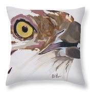 Bird Of Prey  Osprey Throw Pillow