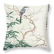 Bird On The Branch Throw Pillow
