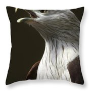 Bird Portrait Throw Pillow