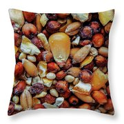 Bird Seed Throw Pillow