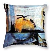 Bird Tribes Throw Pillow