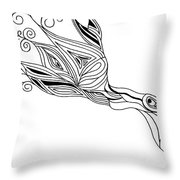 Bird Throw Pillow
