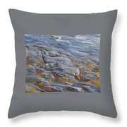 Bird Underwater Throw Pillow