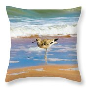 Birdling Throw Pillow