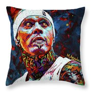 Birdman Andersen Throw Pillow
