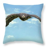 Birds 66 Throw Pillow