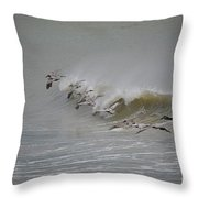 Outer Banks Obx Throw Pillow