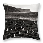 Birds Of A Feather... Throw Pillow