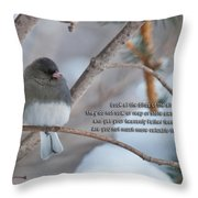 Birds Of The Air Throw Pillow by David Arment