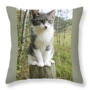 Birdwatcher Throw Pillow
