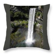 Brandywine Falls - British Columbia Throw Pillow