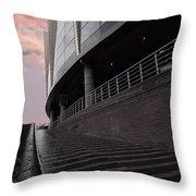 Birmingham Barclaycard Arena Throw Pillow