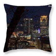 Birmingham Skies Throw Pillow