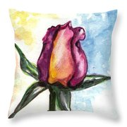 Birth Of A Life Throw Pillow