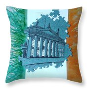 Birth Of A Nation  Throw Pillow