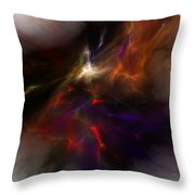 Birth Of A Thought Throw Pillow by David Lane