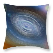 Birth Of A Universe Throw Pillow