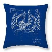 Birth Of Alien Throw Pillow