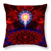 Birth Of The Presence Throw Pillow