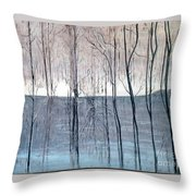 Birth Of The Spring Throw Pillow